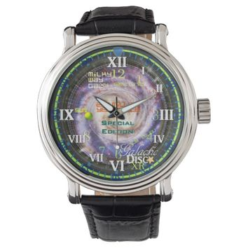 Milky Way Sun Cycle Galactic Disc XR25 Astronomy Watch