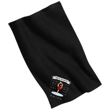 DCCKJY1 Figure Skating Physics Rally Towel
