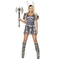 Sexy Comic Book Viking Girl Halloween Costume