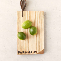 Farmhaus Reclaimed Ash Wood Cutting Board - Urban Outfitters