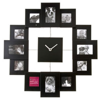 Family Time Photo Frame Clock