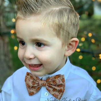 Gingerbread Man Bow Tie, Christmas Bowtie, Baby Boys, Kids, Mens Accessories