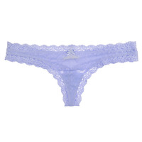 Delirious Lace Low-Rise Thong