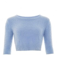 COLLECTIF VINTAGE ISOBEL FLUFFY JUMPER