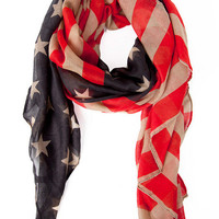 The American Flag Scarf $14