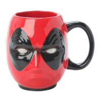 Marvel Deadpool Head Figural Mug