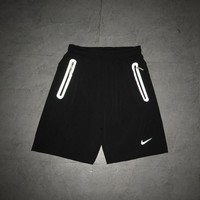 nike summer unisex sport casual classic breathable shorts sweatpants couple running leisure pants