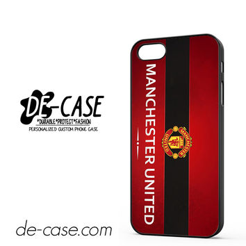 Manchester United Collection DEAL-6827 Apple Phonecase Cover For Iphone 5 / Iphone 5S