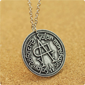 Song of Ice and Fire Game of Thrones coin faceless men Women Targaryen necklaces & pendants fashion movie Surrounding jewelry
