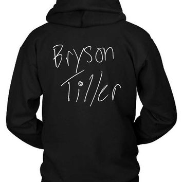 DCCKL83 Bryson Tiller Title Illustrations Hoodie Two Sided
