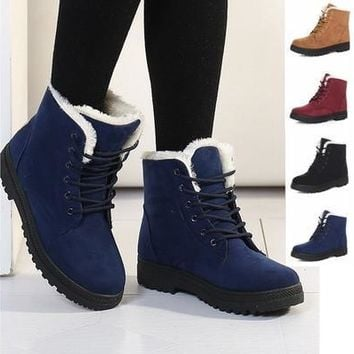 Classic Women's Snow Boots Fashion Winter Short Boots [8833467660]