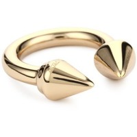 "Vita Fede ""Titan Ring"" Rose Gold-Plated Ring, Size 8"