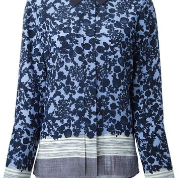 Tory Burch flower print shirt