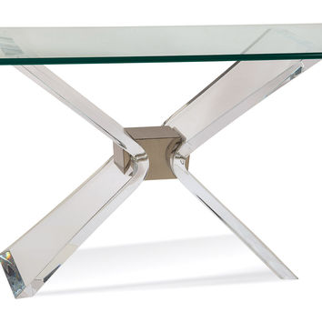 Console Denmark, Acrylic / Lucite, Console Table