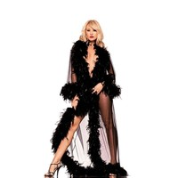 Be Wicked BW834 THE GLAMOR ROBE, floor-length seduction