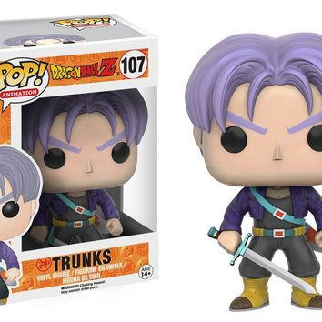 "Funko Pop Dragon Ball Z Trunks 3.75"" Vinyl Figure"