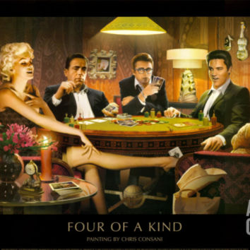 Four of a Kind Art Print by Chris Consani at Art.com