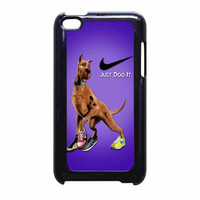 Scooby Doo Nike Just Do It iPod Touch 4th Generation Case
