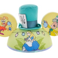 disney parks character ears alice in wonderland ear hat one size new with tags