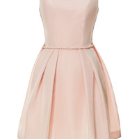 Watteau Pleat Mini Dress by Katie Ermilio - Moda Operandi
