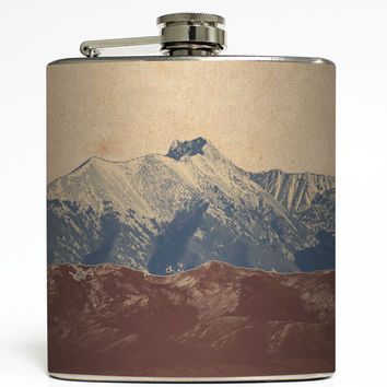 Rocky Mountain High - Camping Flask