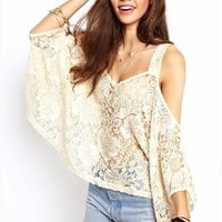 loose lace cotta vest outer cover-white from shoponline4
