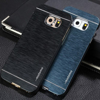 new ultra thin Luxury hybrid PC+Aluminum metal case for Samsung Galaxy s6 edge S6 S7 edge S7 note 7 5 cover phone bags cases
