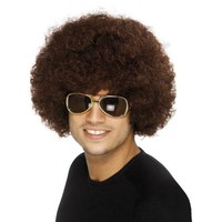 70s Funky Afro Wig Costume Accessory Adult Halloween