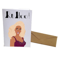 Girl, She's a Queen Greeting Card