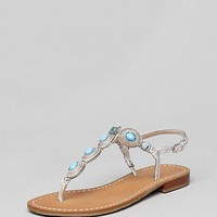 IVANKA TRUMP Flat Thong Sandals - Pepe | Bloomingdale's