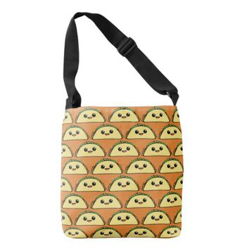 Kawaii Taco TP Crossbody Bag