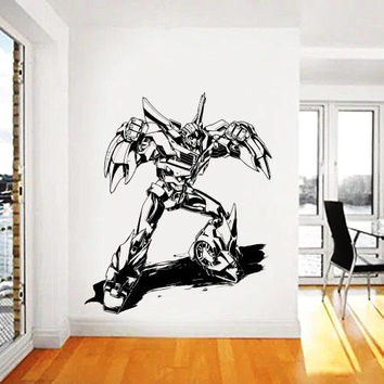Transformers Wall Decal,Prime Wall Sticker,Bumblebee wall decal,Kids Wall sticker,Bedroom Wall Sticker,Nursery wall decal kau 275