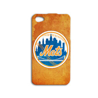 New York Mets Phone Case Baseball iPod Case Sport iPhone Case Orange Case iPhone 4 iPhone 5 iPhone 4s iPhone 5s Cute iPod 5 Case iPod 4 Case