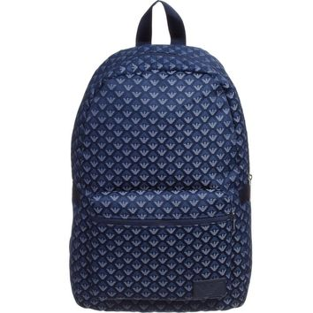 Armani Junior Blue Logo Backpack (Unisex)