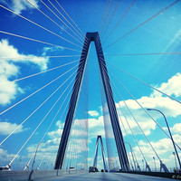 Canvas Print of Bridge in Charleston, SC - Made to Order