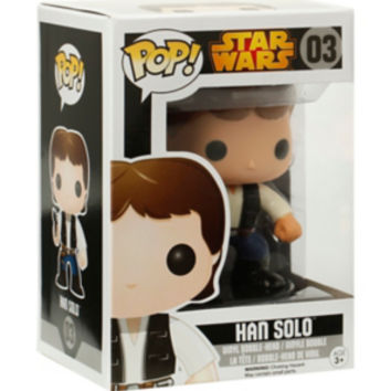 Star Wars Pop! Han Solo Vinyl Bobble-Head
