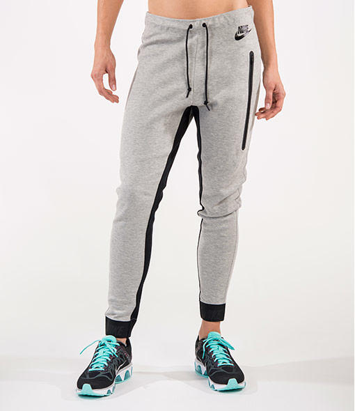 Brilliant Nike T2 Woven Jogger Pants In Metallic  Lyst
