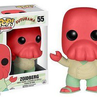 "Funko Pop Futurama Zoidberg 3.75"" Vinyl Figure New"