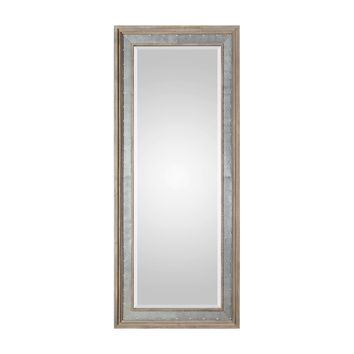 Barren Large Scale Industrial Style Rectangular Wall Mirror by Uttermost