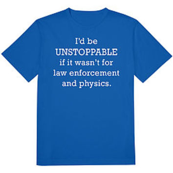 Unstoppable Tee Royal Blue
