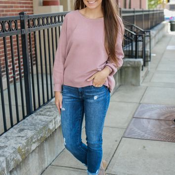 Pick Of The Patch Sweater - Spice