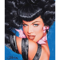 Betty Page Eyes Poster