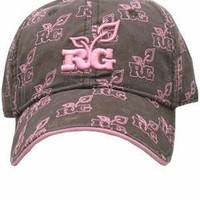 The Game's Realtree Girl Logo Cap - Brown/Pink