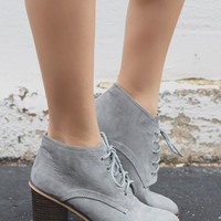 Good News Booties - Grey