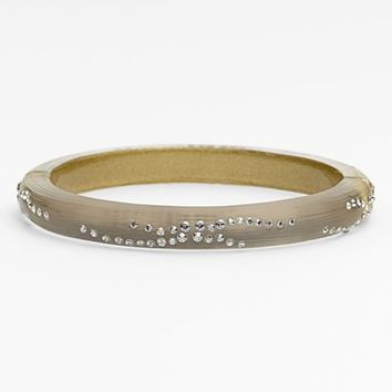 Women's Alexis Bittar 'Lucite - Dust' Small Hinged Bracelet