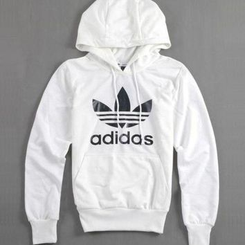 """Adidas"" Women Fashion Hooded Top Pullover Sweater Sweatshirt Hoodie Coat"