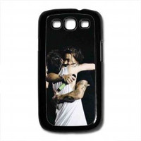 larry stylinson and harry styles for samsung galaxy s3 case