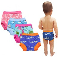 High Waist Reusable Baby Swim Diaper Pants