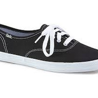 Champion Black Canvas Keds