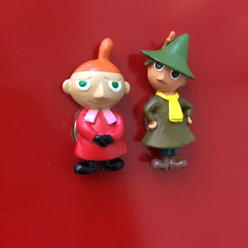 Snufkin and Little My magnets